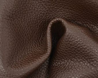 "Java Cupcake Leather New Zealand Deer Hide 8"" x 10"" Project Piece 2 1/2 ounces TA-56480 (Sec. 4,Shelf 6,C)"