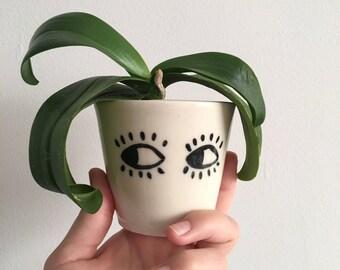 Mini Porcelain Gazing Planters