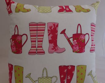 Pillow - Wellies design feature cushion, complete with cushion pad, zip fastening