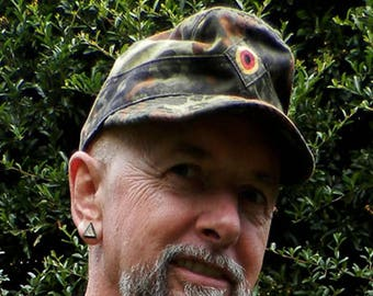 German Army Camouflage Combat Cap