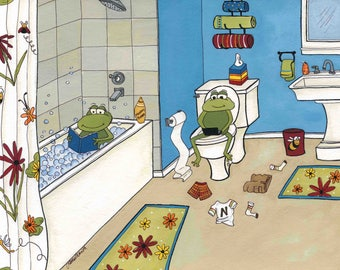 Froggie Bath