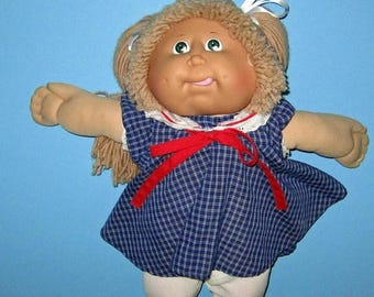 SALE Cabbage Patch Kids, Girl Doll Coleco, Lion Mane