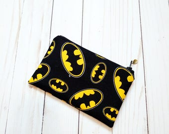 Batman Small Zipper Pouch
