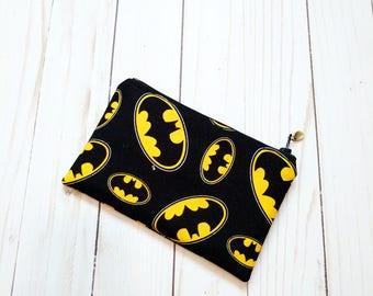 Batman Small Zipper Pouch