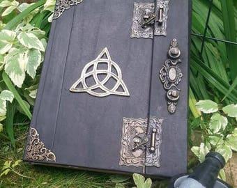 Journal blank notebook book Book of Shadows Spells Book  grimoire Witch book of shadows Altar Journal