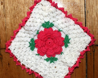 Pot Holder - Flower Pot Holder - Floral Pot Holder