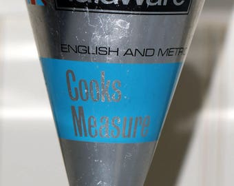 Vintage Talaware English and metric kitchen measure