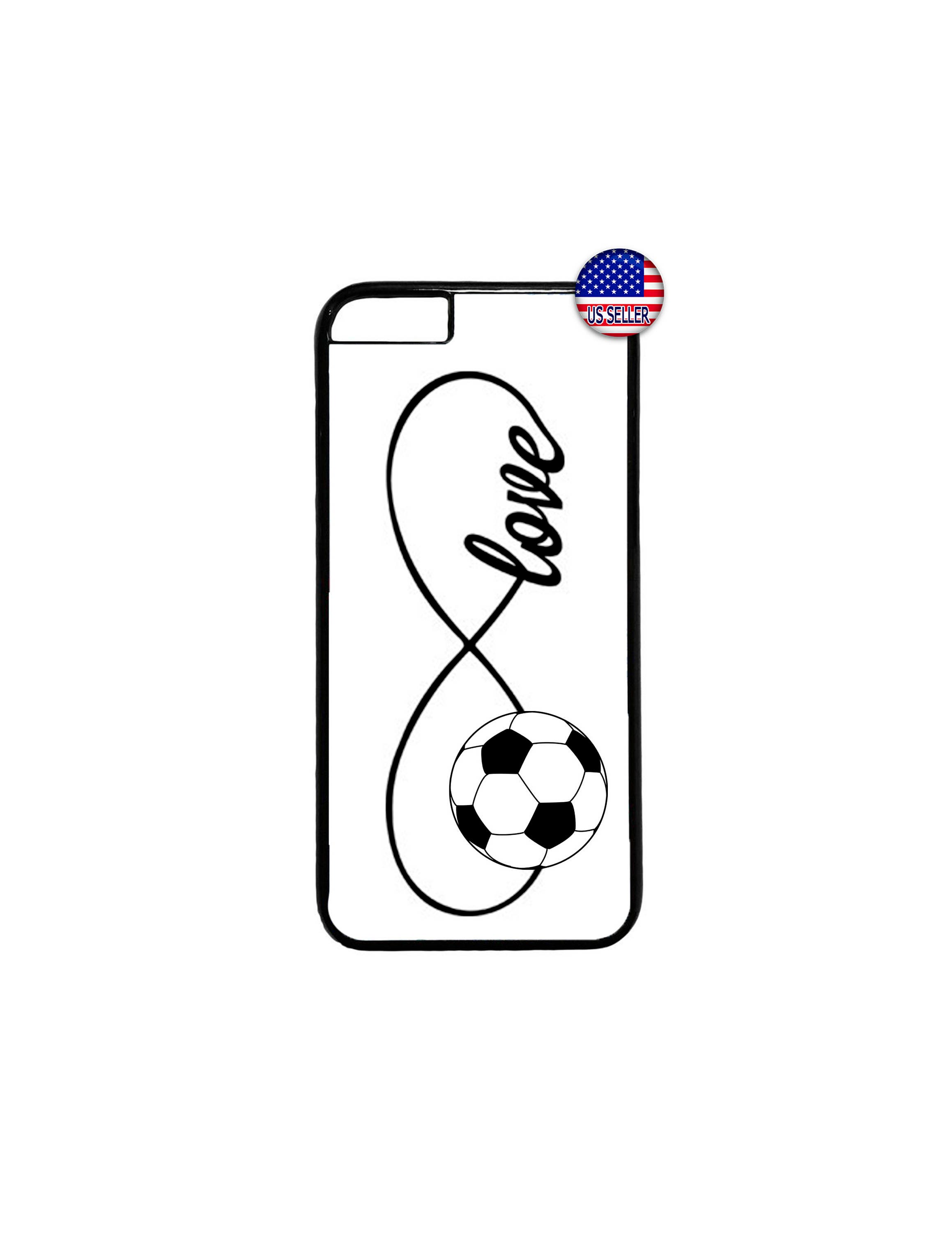 Soccer forever infinity love hard rubber tpu case cover for iphone 4 soccer forever infinity love hard rubber tpu case cover for iphone 4 4s 5 5s se altavistaventures Images