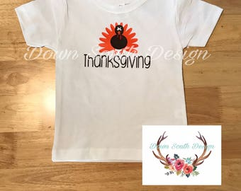 Thanksgiving  Turkey Vinyl tee