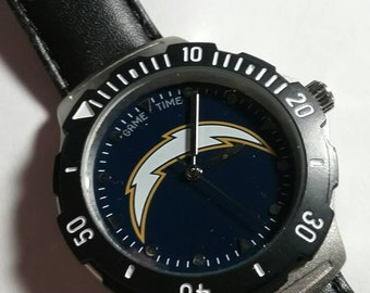 San Diego Chargers watch. Very Sharp. Mint. #55