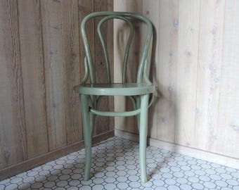 Vintage Bentwood Chair Thonet Style Cafe Chair Dining Desk Accent Chair USA only One chair 4 available