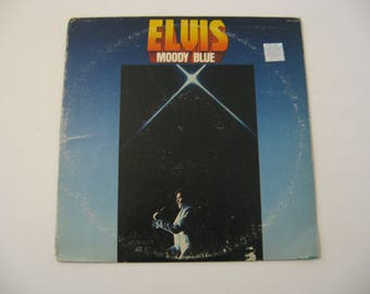 Blue Vinyl - Elvis Presley - Moody Blues - Circa 1977