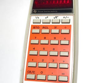 TI-1270 Vintage Calculator Digital Display Texas Instruments Tested And Works
