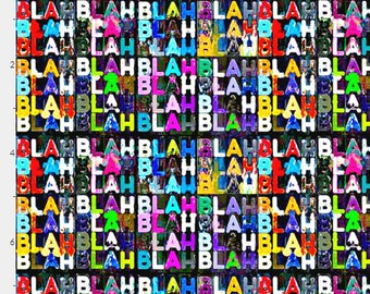 Blah Blah Blah | Minky |  Menstrual, postpartum, incontinence Pads, Pampered Shop