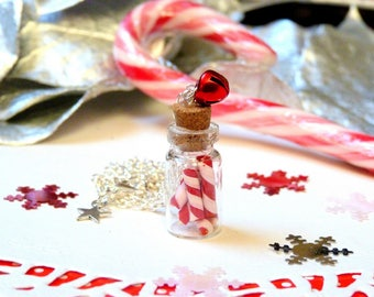 Necklace * Christmas edition * candy jar