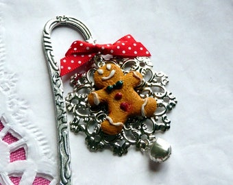 Bookmarks * Christmas edition * gingerbread man