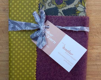 how to make beeswax wraps with resin