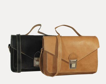 Handbag spirit leather Briefcase - 2 colors available!