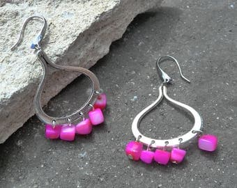 """So Pink"" earrings"