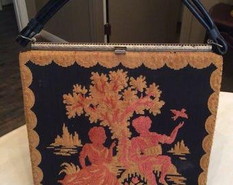 Handbag~Purse~Vintage Purse~Antique Purse~Vintage Handbag