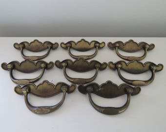 Chippendale Style Brass Drawer Pulls - Keeler Brass Company Furniture Hardware