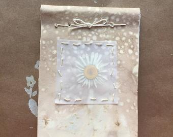 Little Daisy Wildflower Notebook