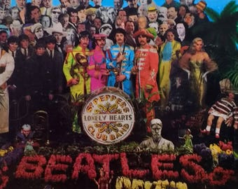 Original 1967 MAS 2653 pressing of The Beatles Sgt. Peppers Lonely Hearts Club Band Album