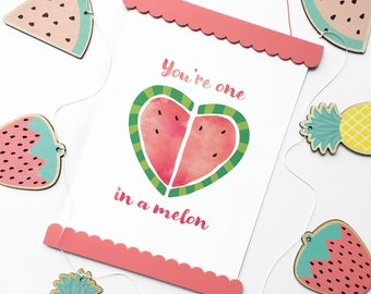 One in a Melon Art Print | Kids Poster
