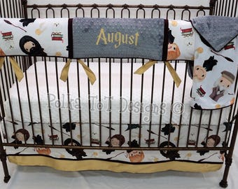 Harry potter mobile baby crib mobile harry potter nursery - Harry potter crib set ...