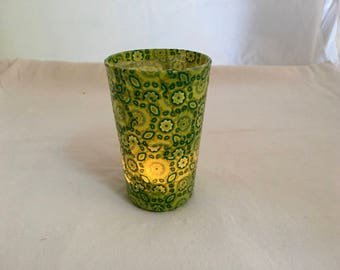 Candle lights for candles and lights in green fruit colors