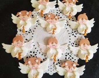 Baptism favor, First communion Favors, First communion Cupcake Toppers, Girl Baptism , First Communion Girl Favor, First Communion Boy Favor