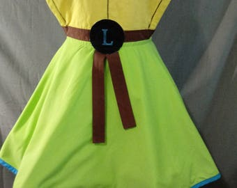 Ninja Turtle inspired apron