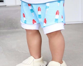 Bomb Pop Baby Shorts
