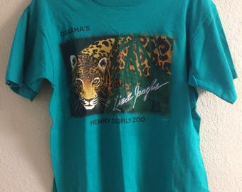 Vintage Omaha's Henry Doorly Zoo T-Shirt Large