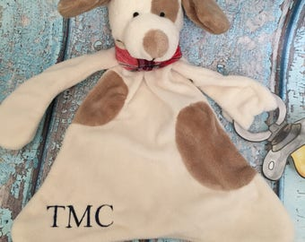 Monogrammed Lovey, personalized baby gift, baby shower gift