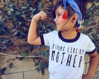 Strong Like My Mother Shirt