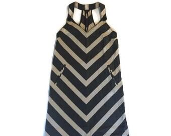 Vintage Striped Summer Dress