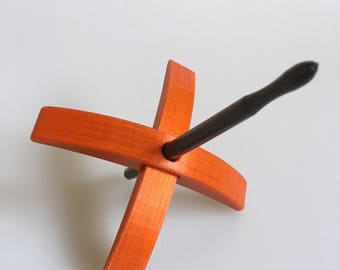 3D printed Turkish spindle by TurtleMade Midi size