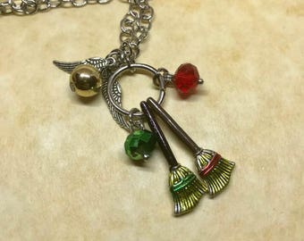 Harry and Draco Necklace