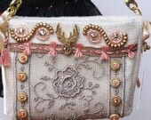 Boho chic tote bag for Fashion Royalty, Poppy Parker, Barbie