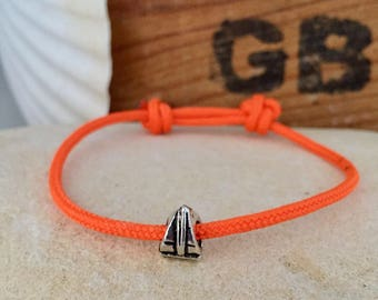 Sailing bracelet with boat