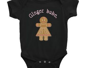 ginger babe Infant Bodysuit