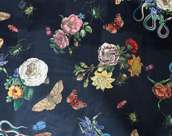 Fabric - Lady McElroy- Cobra corsage - 100% cotton lawn - woven fabric