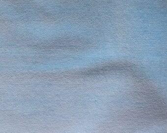 Fabric - Stretch velvet fabric - pale blue.