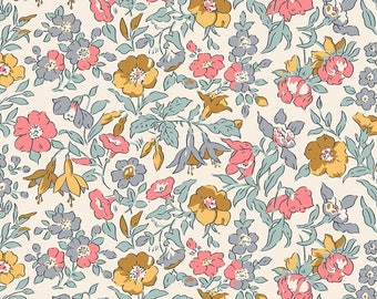 Fabric -Liberty  - The English Garden - Mamie, light pink - Quilters weight cotton