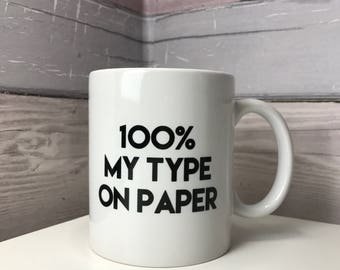 Love Island Mug // 100% on paper //  funny mug