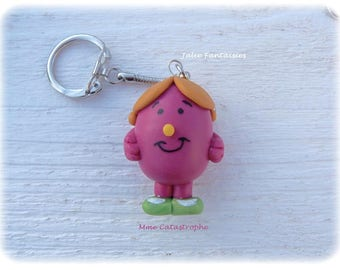 Ms. Catastrophe (Keychain polymer) Collection Mr Mrs