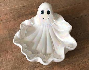 Vintage Ghost Candy Dish, Vintage Halloween, Halloween Ghost, Halloween Candy, Candy, Halloween Decor