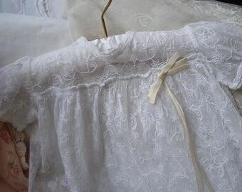 Vintage lace baby's dress