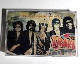 Traveling Wilburys Vol 1 cassette tape 1988 Rock - Bob Dylan, George Harrison, Jeff Lynne, Roy Orbison, Tom Petty